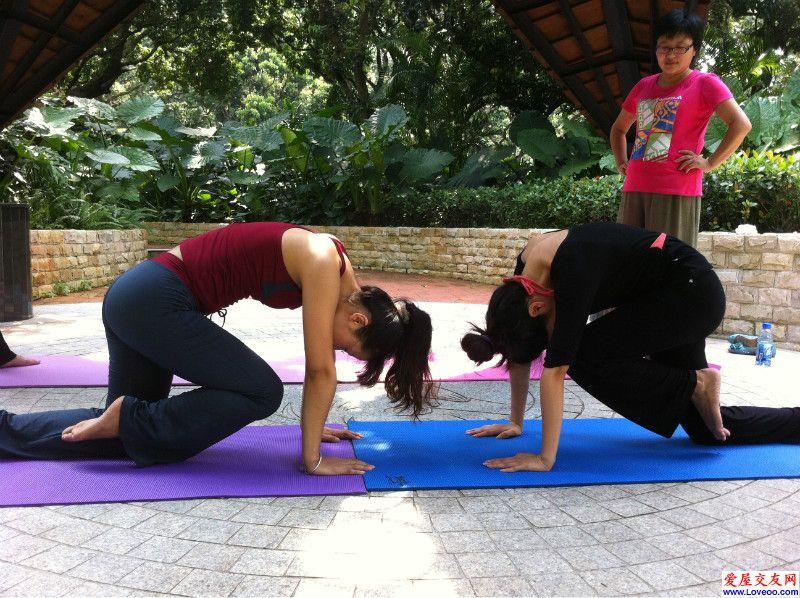 梅林公园户外瑜伽