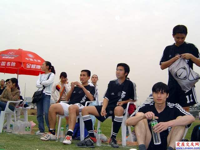 爱屋足球一队合照