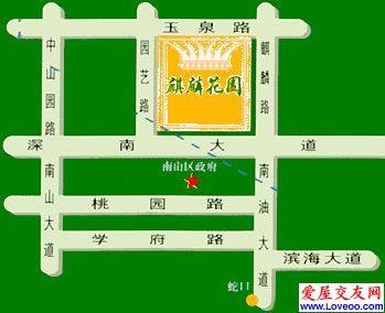 麒麟花园位置图